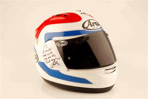 helmet review arai rx 7 gp spencer replica mcn