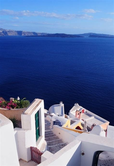Ocean View Santorini Greece Photography Pinterest