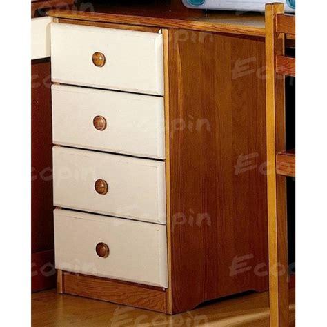 bloc tiroirs bureau bloc de bureau 4 tiroirs en pin massif des landes
