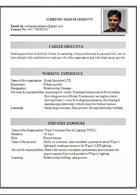 Professional Curriculum Vitae Exles by Home Student Learning Support Ryerson
