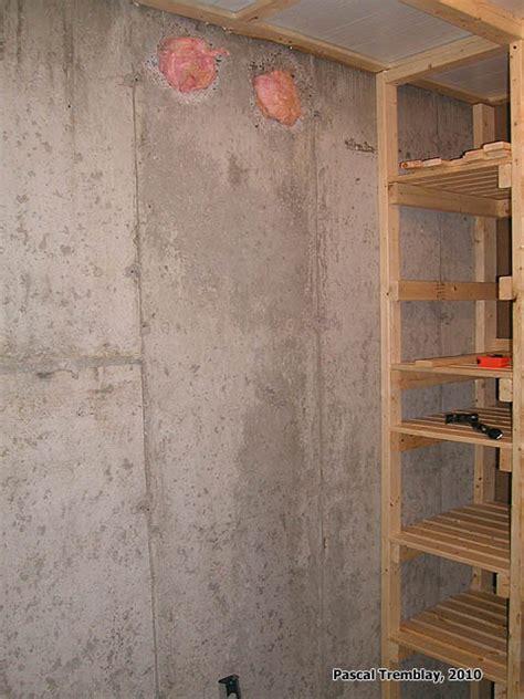fabriquer une chambre froide construire une chambre froide au sous sol guide plan de
