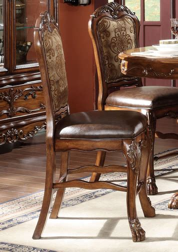 dresden counter height dining room set by acme furniture