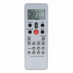 Carrier Air Conditioner Remote Control Manual