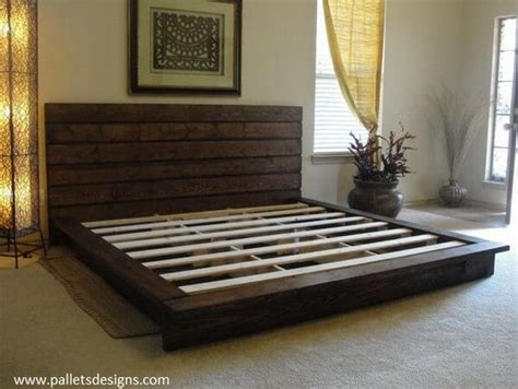 Size Pallet Bed Plans by Wonderful Pallet King Size Beds Frame Ideas Pallets Designs