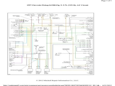 Chevy Express Pressor Wiring Diagram Forums