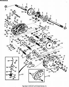 Poulan Xc1182hb Tractor Parts Diagram For Transaxle