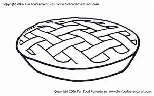 Free coloring pages of apple pie