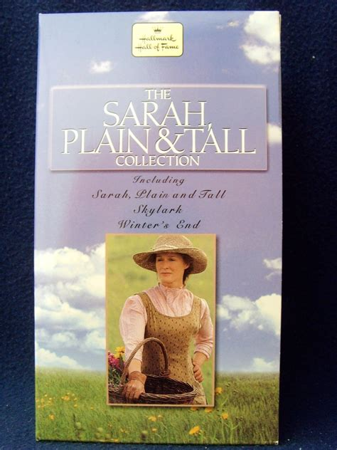 Hallmark Hall Of Fame Sarah, Plain And Tall Trilogy (vhs, 1999, 3tape Set) Mint  Vhs Tapes