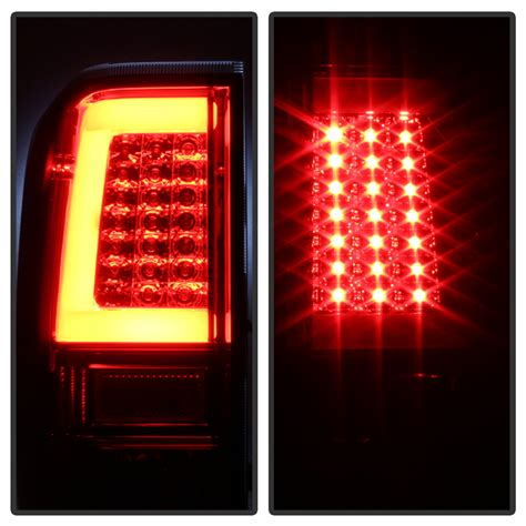 nissan titan led lights 04 15 nissan titan led light tube style tail lights smoked