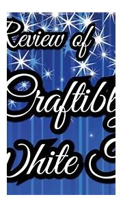 Post review of Craftibly's White Tiger - YouTube
