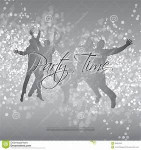 Flyer Or Cover Design - Party Time Stock Vector - Image ...