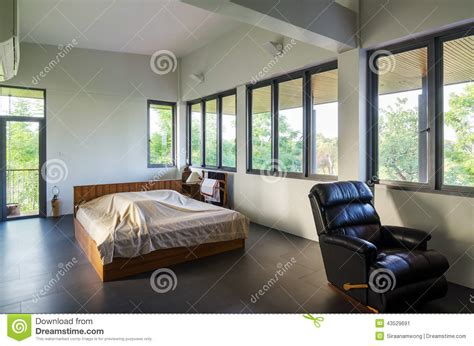 Large Bedroom Interior Stock Photo  Image 43529691