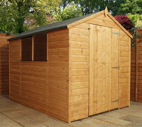 Shiplap Shed by 8 X 6 Shiplap Large Door Wooden Garden Shed