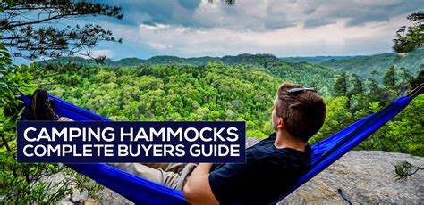Best Type Of Hammock by The Best Cing Hammock Reviews 2019 Highest Buyer