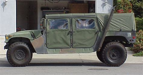 humvee side view m998 hmmwv mark 39 s tech journal