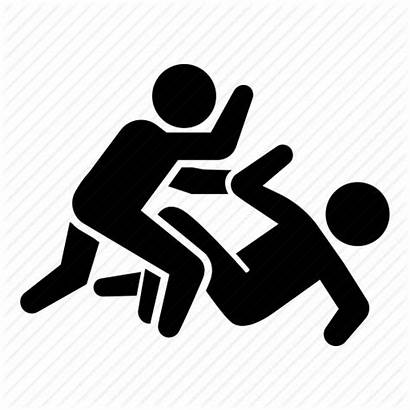 Icon Assault Crime Harm Attack Abuse Icons