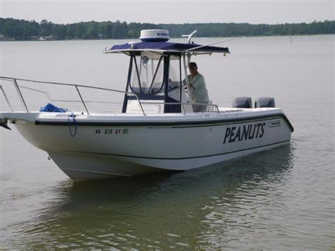 Whaler Fishing Boats by 1999 Used Boston Whaler 260 Outrage Saltwater Fishing Boat