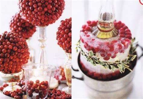 cranberry christmas decorations 46 cranberry christmas d 233 cor ideas digsdigs