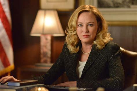 designated survivor season  virginia madsen wont return  abc tv series canceled tv