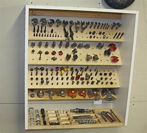 Router Bit Storage Cabinet Build Tools & studio
