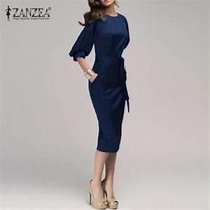 Aliexpress.com : Buy Women Rockabilly Dress Half Sleeve ...
