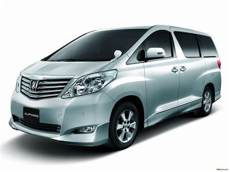 Toyota Alphard Picture by Pictures Of Toyota Alphard V Aero Anh20w 2009 2048x1536