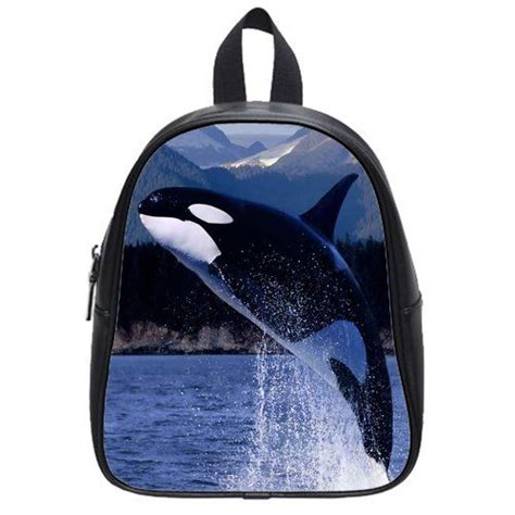 new killer whale school bag animal whale pu leather backpack gt gt gt be sure to check out