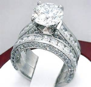 3 5 carat engagement ring 3 2 carat engagement ring mount wedding band plat or 18k white gold ebay