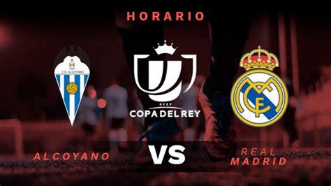 Alcoyano - Real Madrid: dónde ver por televisión y online ...