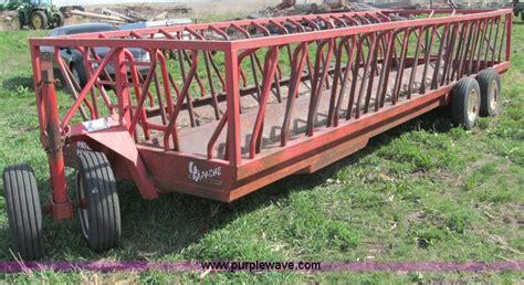 hay feeder wagon apache wew24a2 hay trailer feeder wagon item b5121
