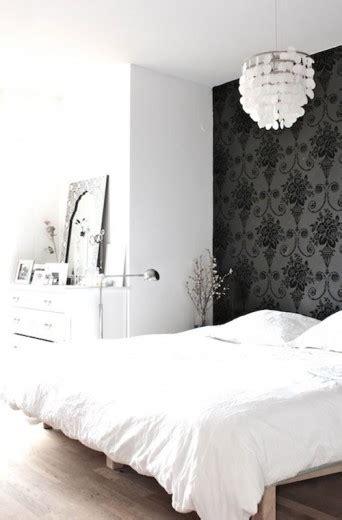 interieur inspiratie barok behang  de slaapkamer