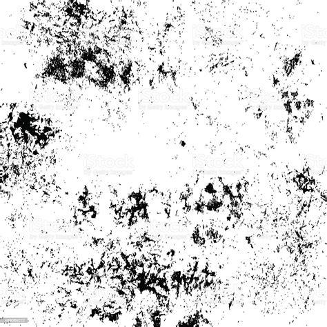 Black And White Grunge Texture Stock Illustration