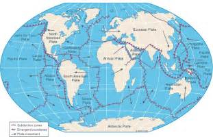 Earth Tectonic Plate Faultlines