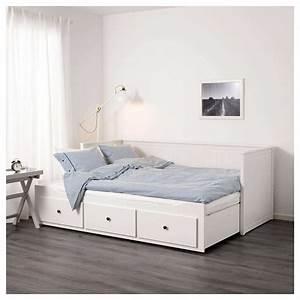Ikea Doppelbett Weiß : bett ikea hemnes ikea bett wei 140 200 cm tagesbett web ~ Orissabook.com Haus und Dekorationen