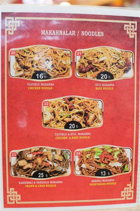 lucky cat chinese fast food  cyprus guide