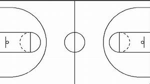 Best photos of blank basketball court diagram blank for Basketball court design template