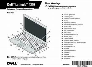 P05g Notebook Computer User Manual Dell Latitude 4310