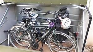 Abri Vélo Pas Cher : utiliser un coffre m tallique pour deux roues afin de ~ Premium-room.com Idées de Décoration