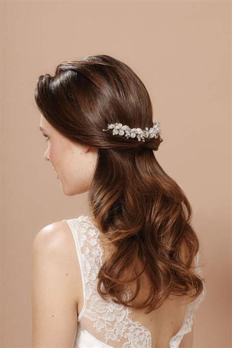 hair styling for weddings 14 wedding hairstyles with headpieces peinados peinado 8486
