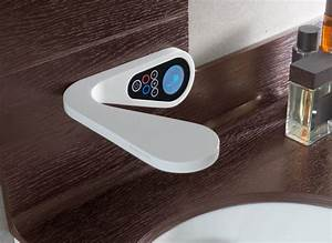 High tech bathroom faucets for digital and electronic upgrades for Water tech bathroom fittings