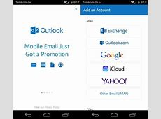 How to Set up email in the Outlook for Android app
