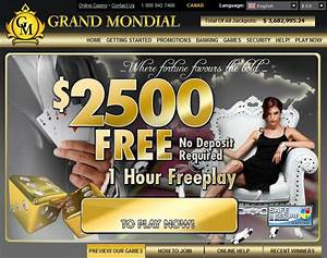 Grand Mondial Casino 150 Extra Chances on the Best Casino Games