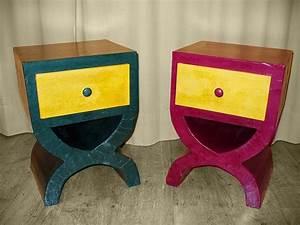 Casa Table De Chevet : table de chevet originale table de chevet enfant table de nuit originale atelier carton ~ Teatrodelosmanantiales.com Idées de Décoration