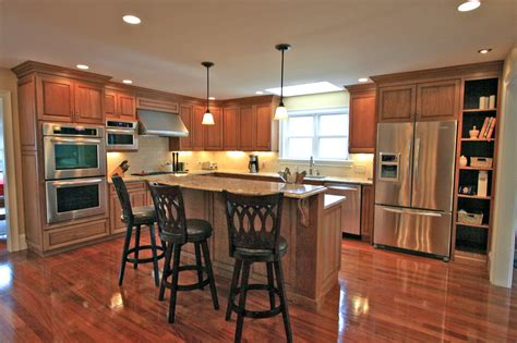 Check Out The Pics Of New Kitchens!  Halliday Construction. Tall Kitchen Storage Unit. Small Modern Kitchens Ideas. Primitive Country Kitchen Decor. White Modern Kitchens. Modern Kitchen Cabinets Colors. Modern French Country Kitchen. Cherry Red Kitchen Cabinets. Geneva Modern Kitchens