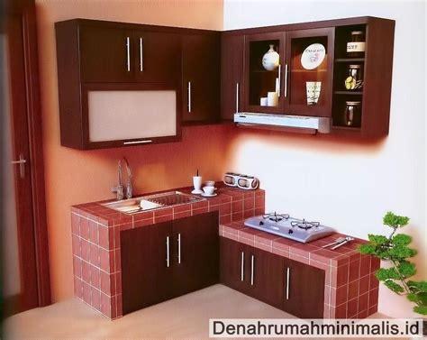 desain dapur minimalis sederhana type  ide rumah