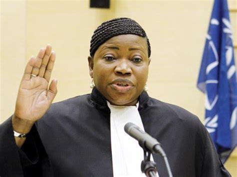 Gambia's Fatou Bensouda sworn in as ICC prosecutor ...