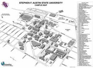 Stephen F. Austin Campus Map