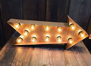 Metal letter lights by letteroom notonthehighstreetcom for Metal letters with lights