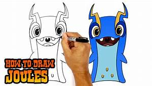 How to Draw Joules | Slugterra - YouTube