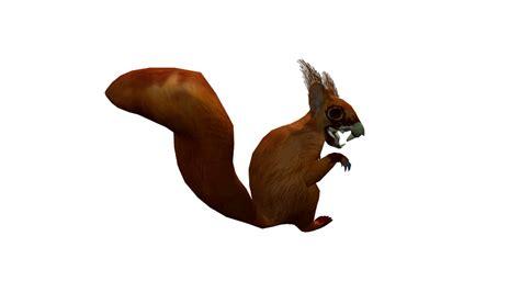 Undead Squirrel Animated